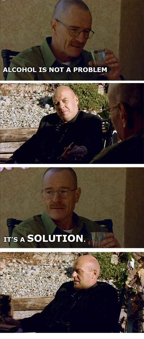 Walter White Telling Stupid Dad Jokes About Chemistry Is ...