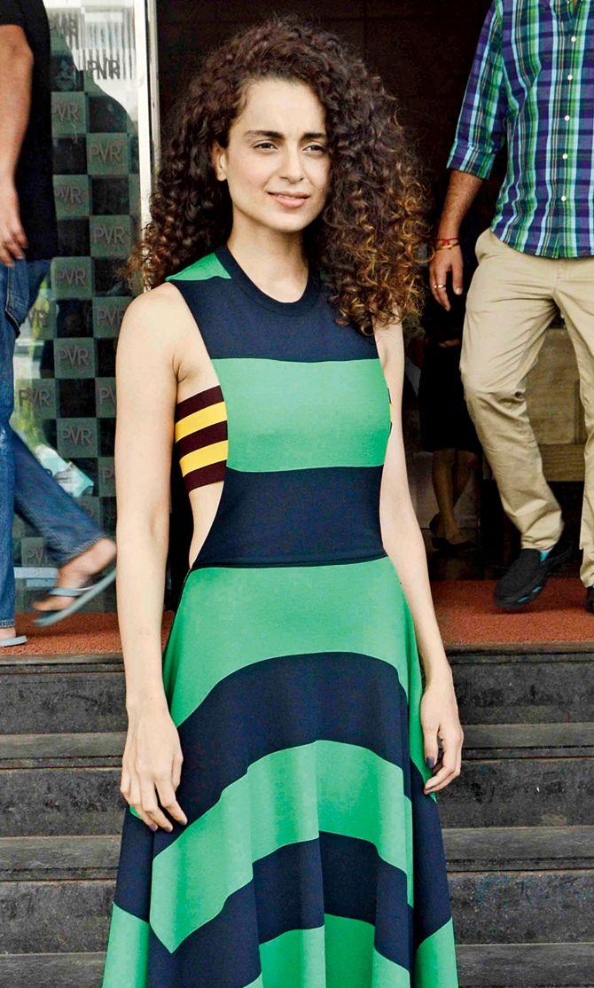 Kangana Ranaut promotes 'Tanu Weds Manu Returns'. #Bollywood #Fashion #Style #Beauty