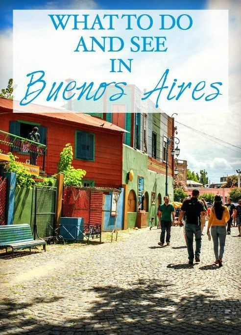 What to do and see in Buenos Aires, Argentina