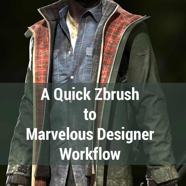 ArtStation - Marvelous Designer Workflow Tutorial, yuri alexander