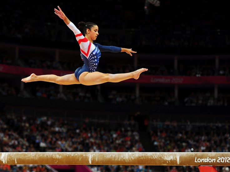 The sport of gymnastics Is all about talent, and there is a a lot of talent here!