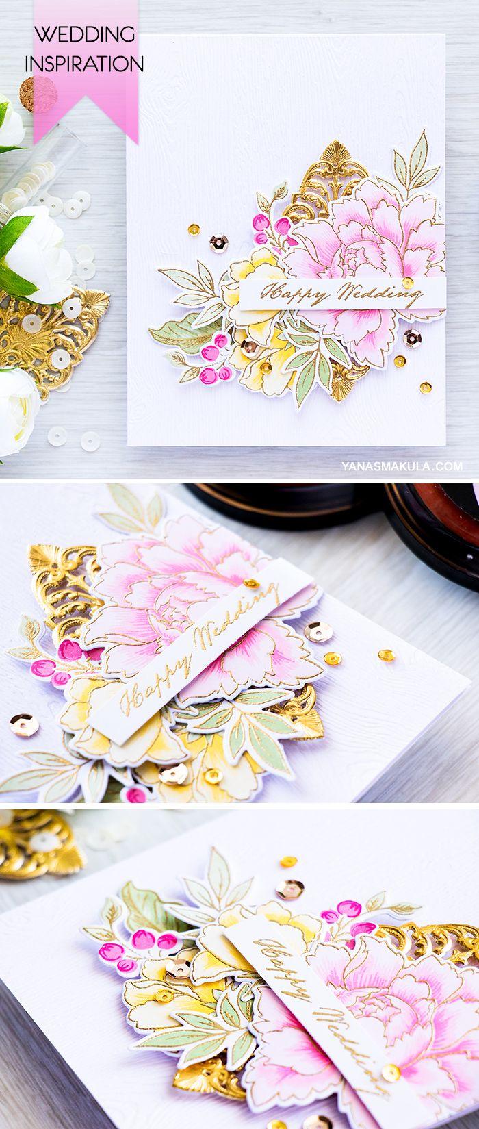 33 Best Altenew Wedding Cards Images On Pinterest Altenew Cards
