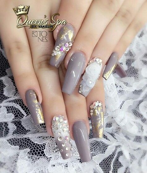 Like the shape of the nails. Not too pointy
