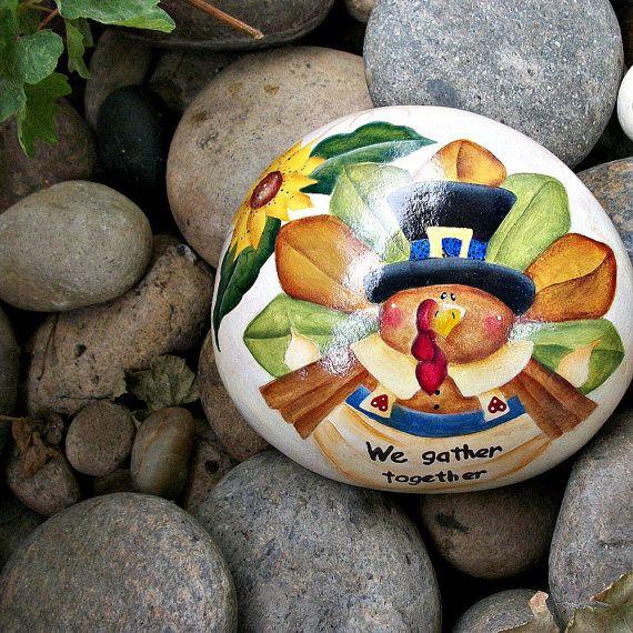 Festive Turkey Sign Thanksgiving Sunflower Green