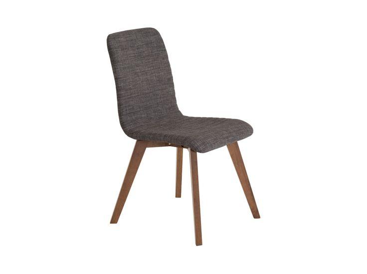 SWEET Stol Mørkegrå/Valnøtt i gruppen Innendørs / Stoler / Spisestuestoler hos Furniturebox (110-71-95469)