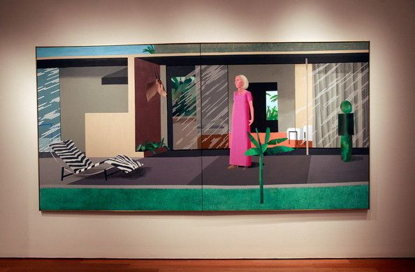 David Hockney - Beverly Hills Housewife
