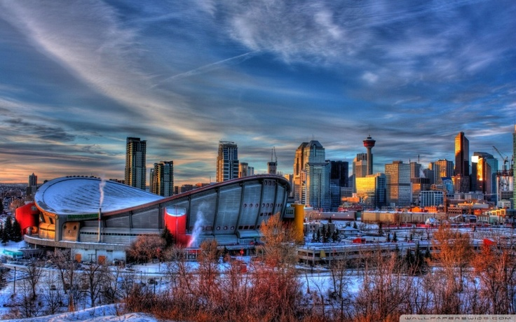 Scotiabank Saddledome  Calgary, Alberta  Home of the Calgary Flames