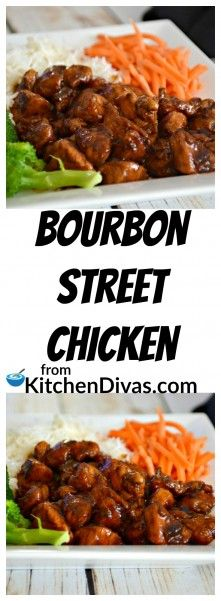 I have been making this recipe for years. Bourbon Street Chicken is super tasty and one of our favorites. It takes about 30 minutes to have this chicken dish on your table and ready to eat.  I have served it with anything and everything! From rice to salad! These delicious chicken pieces taste great with it all! Most of us are always looking for another chicken recipe. This is one of those recipes! It is at least a recipe you must try…