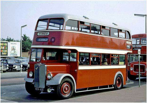 I'm off to Great Bromley, from the old Colchester bus station
