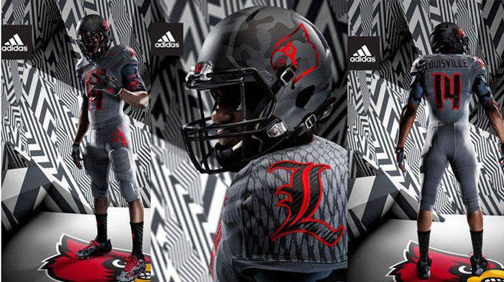 U Of L Football Uniforms . url: http://safootballuniformss.blogspot.com/2015/10/u-of-l-football-uniforms.html