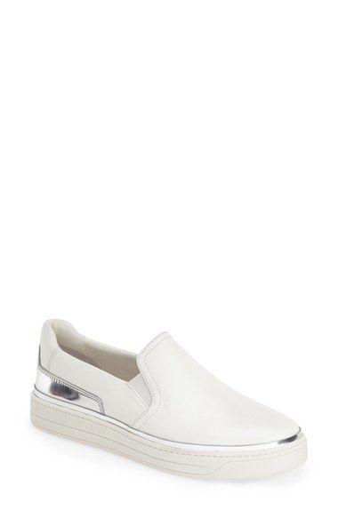 Prada Slip-On Sneaker (Women) available at #Nordstrom