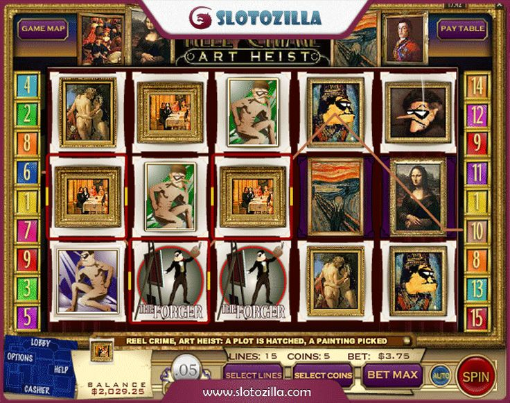 The Great Art Robbery Slots - Play for Free Online Today