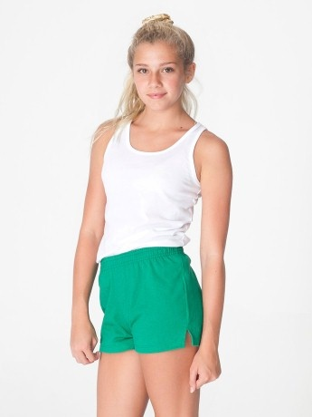 1201 Youth Thick Knit Jersey P.E. Short