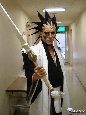 Kenpachi Bleach cosplay