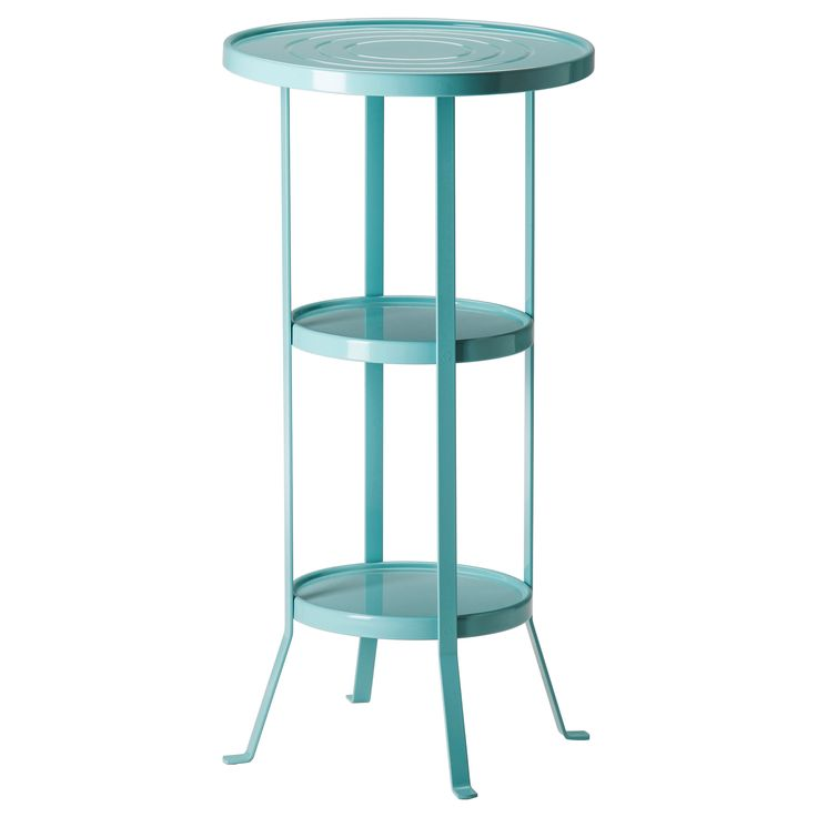 GUNNERN Pedestal table - blue - IKEA Great as a plant stand for front porch.  sc 1 st  Pinterest & 32 best Ikea Sprutt images on Pinterest   Room Ikea bathroom and ... islam-shia.org