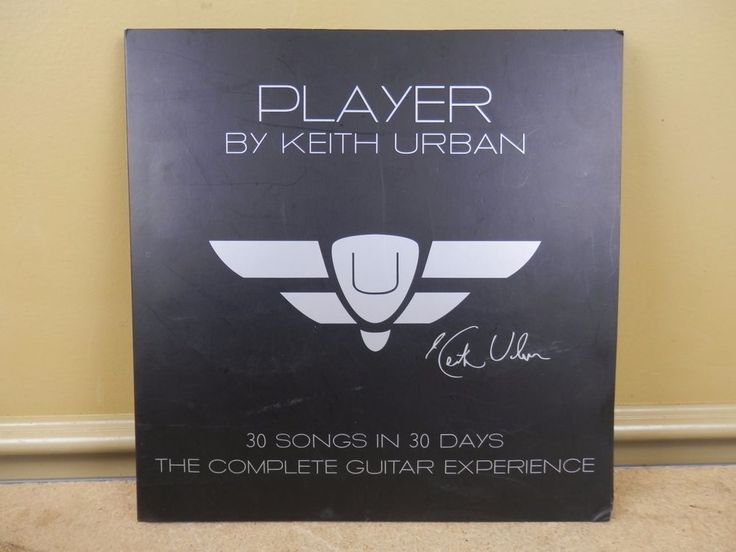 Player By Keith Urban 30 Songs in 30 Days The Guitar DVD Set - INCOMPLETE #KeithUrban