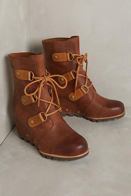Sorel Joan of Arctic Wedge Weather Boots - anthropologie.com