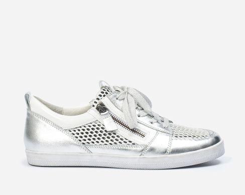 46.448.10 Gabor Sneakers Zilver - 1