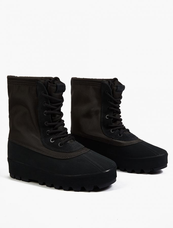 adidas x Kanye West Black YEEZY Boost 950 Boots