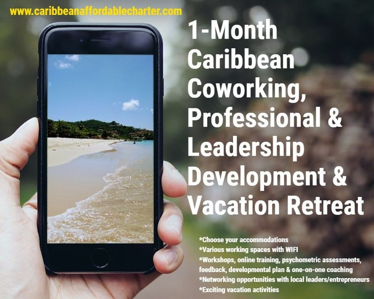 Don't miss this opportunity! 1-Month Caribbean Coworking, Professional and leadership Development & Vacation Retreat Where: Grenada When: From Nov. 17 to Dec. 16, 2018 Size of the group: Up to 10 For whom: Entrepreneurs, leaders, professionals,  Visit http://wu.to/3cISbF