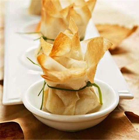 Mis Recetas Favoritas:  Pollo y Queso Camembert en Masa Filo