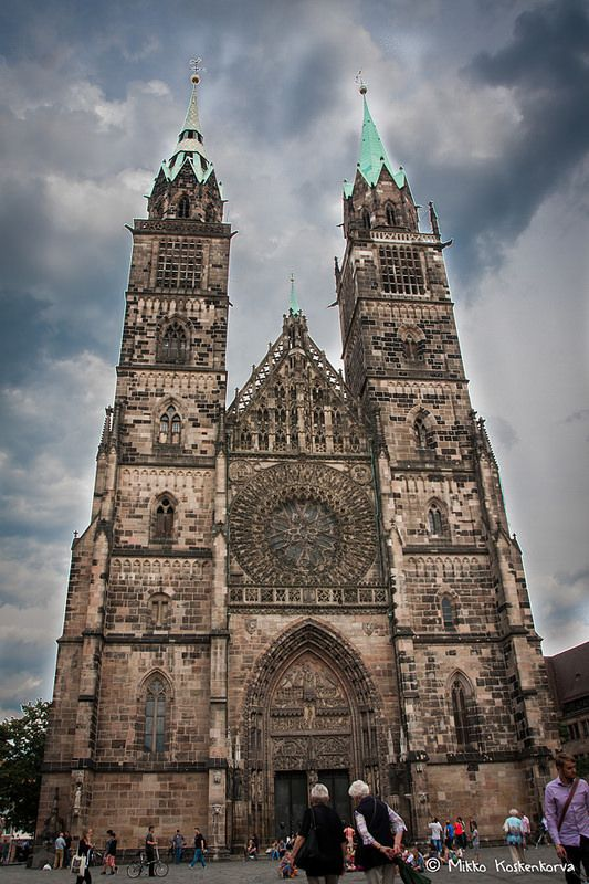 St. Lawrence Church in Nuremberg, Germany
