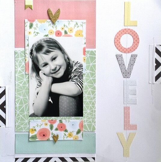 APOCD : Friday Favorites: LOVELY layout by Amanda Baldwin