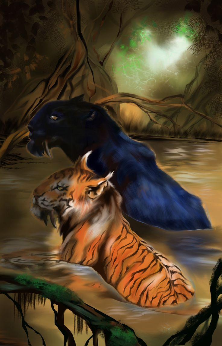 Sabretooth tigers