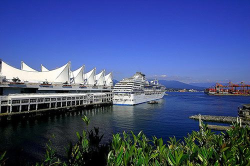 Canada Place, Vancouver BC, Canada