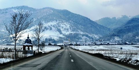 SibiuNews - MIRIFIC! Peisaj din zona TALMACIU- intruchipare de basm!
