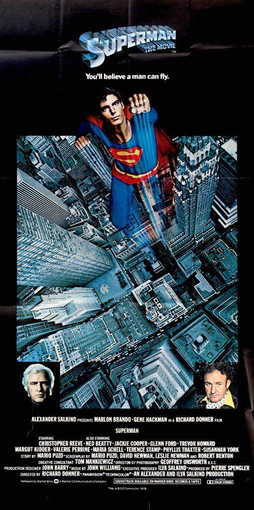 Superman: The Movie (1978) #1970s #1978 #41x81