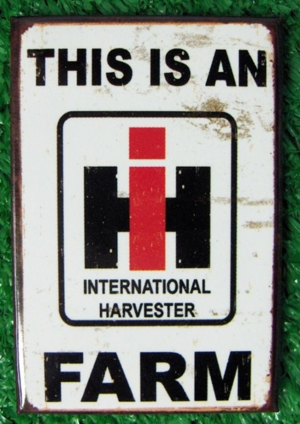 International Harvester Farm Magnet
