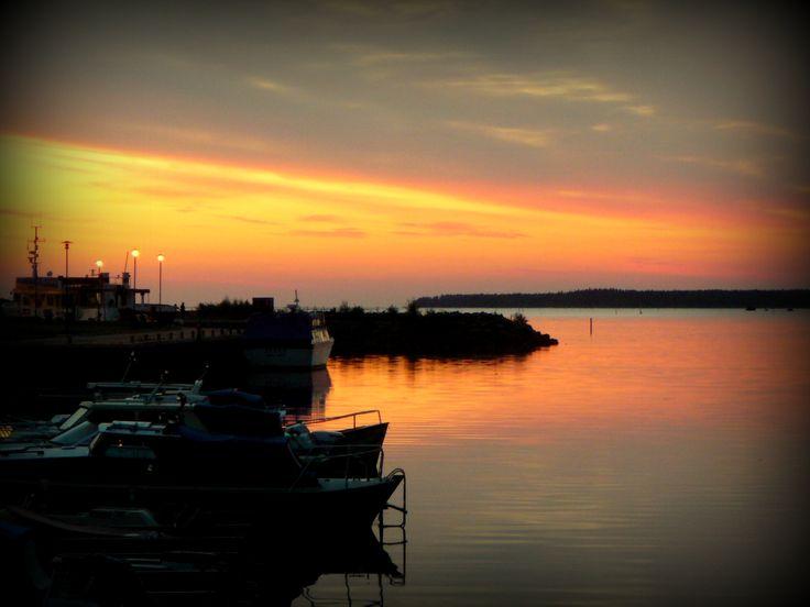#sunset #kokkola #finland