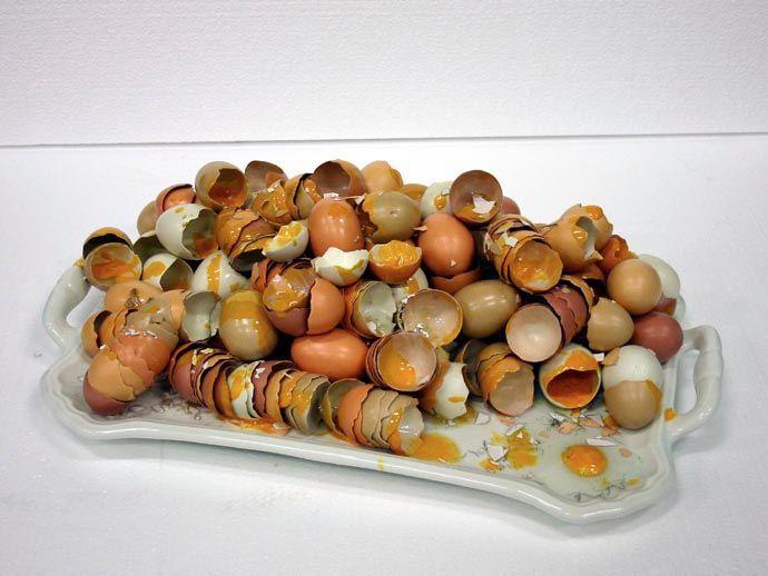 Bertozzi & Casoni Vassoio, 2005 glazed ceramic 6 x 21 1/4 x 13 3/8 inches (15,2 x 54 x 34 cm) SW 05148 Private Collection