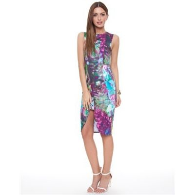 Talulah Mosaic Hues Dress Dresses Available in Print - Fashion Brand Sale