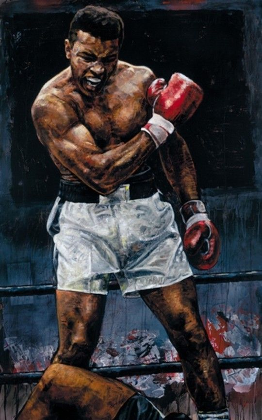 Mohamed Ali aka Cassius Clay -Stephen Holland