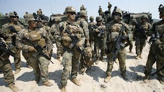 Bantu Syiah Asad AS Kerahkan Pasukan Angkatan Laut ke Suriah Syiahindonesia.com - Ratusan tentara Angkatan Laut AS telah dikerahkan di Suriah dengan senjata artileri berat sebagai bagian dari persiapan untuk perang melawan ISIS di Raqqa menurut pernyataan juru bicara Pentagon.  Para marinir tersebut siap untuk membantu pasukan Suriah ujar seorang pejabat AS kepada AP pada Rabu (8/3/2017). Penyebaran diklaim bersifat sementara. Namun bisa menjadi indikasi bahwa Gedung Putih condong ke arah…