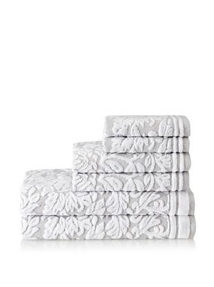 Espalma Chantelle 6-Piece Towel Set (Silver)