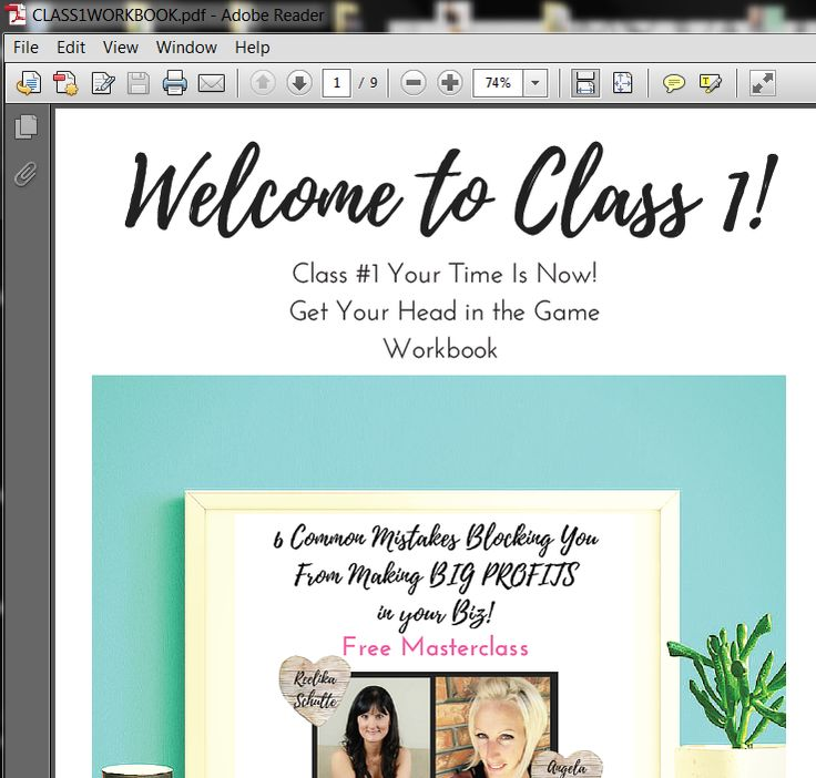 Get Your free workbookand masterclass in the info section here…
