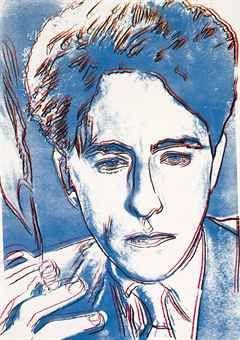Jean Cocteau  - Screenprint in c0lors, 1983.