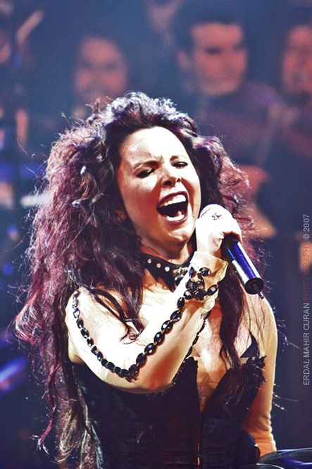 Şebnem Ferah is a Turkish singer and song-writer. She was the lead vocalist of the all-female hard rock band Volvox until 1994, after which she went on to pursue an illustrious solo career.