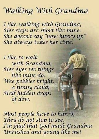 I miss my grandmothers.