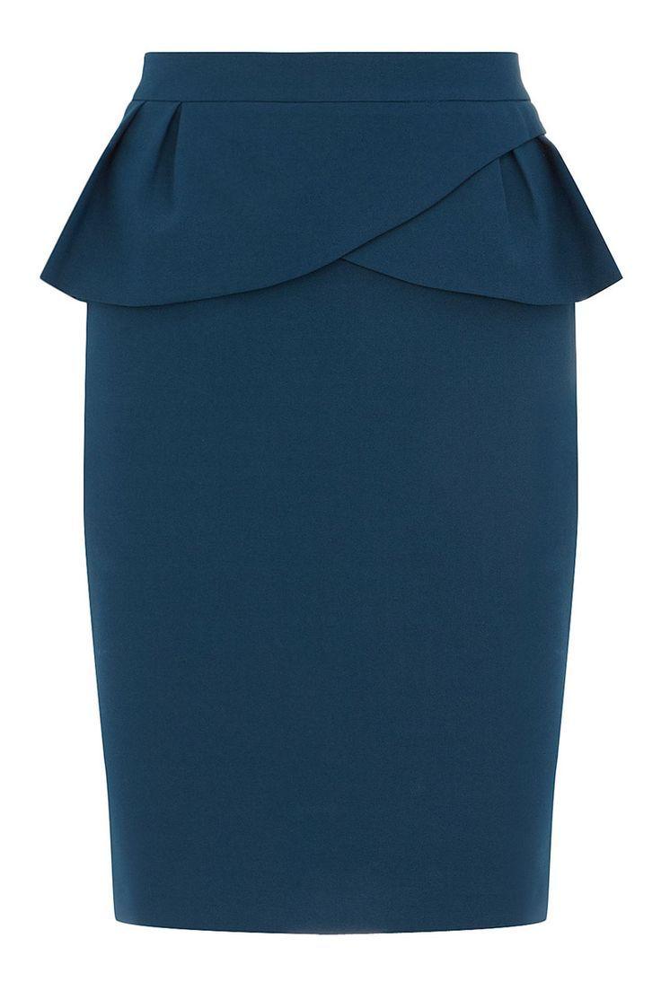 Shopping Dress for less faldas lápiz: Con péplum de Dorothy Perkins
