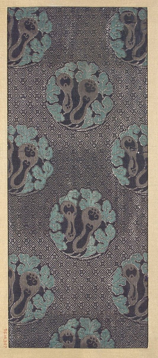 Piece Date: 18th–19th century Culture: Japan Medium: Silk Dimensions: 12 x 5 in. (30.48 x 12.70 cm) http://stores.ebay.ca/allssgood