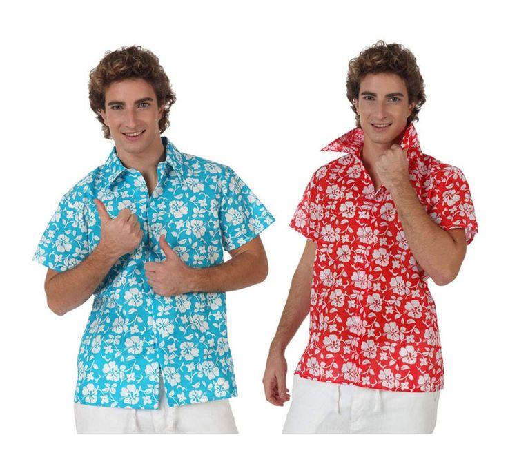 #Camisa de #Hawaiano para hombre en varias tallas. #fiestahawaiana #hawai #hawaii #verano