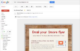 Smore - An easy to use online site that creates newsletters you easily modify and email.