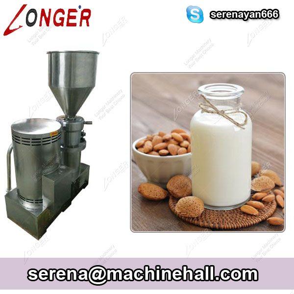 Industrial Almond Milk Grinding Machine Rice Milk Maker For Sale The Grinding Machine Can Make Almond Milk Rice Milk Pe Make Almond Milk Milk Makers Nut Milk