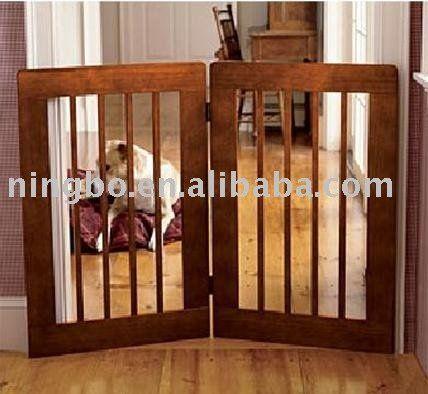 Cão interior porta de madeira/ madeira cerca de estimação-imagem-Outros Produtos para Animais de Estimação-ID do produto:261966542-portuguese.alibaba.com