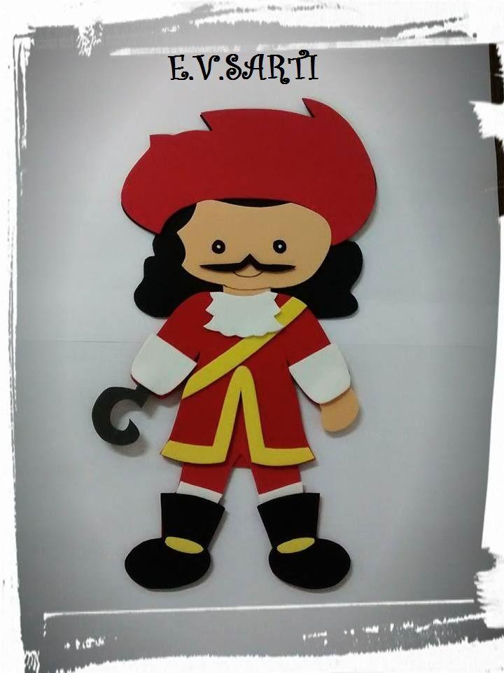 Painel Capitão Gancho