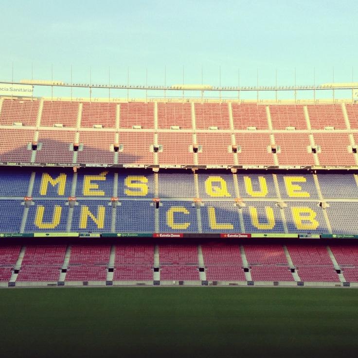 Camp Nou FC Barcelona #catalunyaexperience #fcbarelona #spain #football